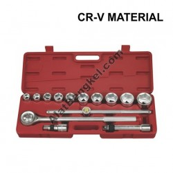 "3/4"" DR 15PCS SOCKET SET"