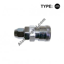 TWO TOUCH AIR QUICK COUPLER