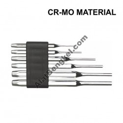 6PCS PARALLEL PIN PUNCH SET