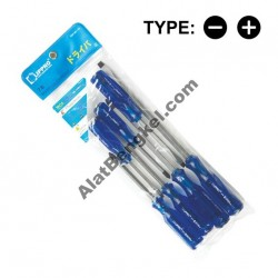 GO-THRU SCREWDRIVER 7 PCS