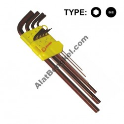9 PCS/SET EXTRA LONG HEX KEY